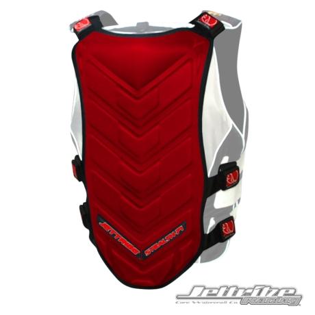 JTG # 13424-RB STEALTH 71 BACK DEFLECTOR RED-BLACK (1)